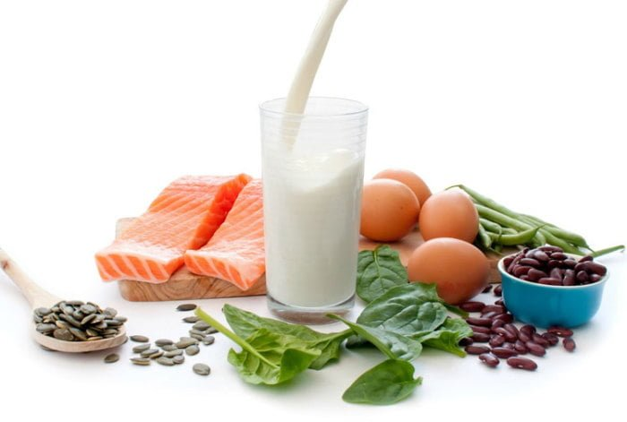 белковые продукты при грудном вскармливании