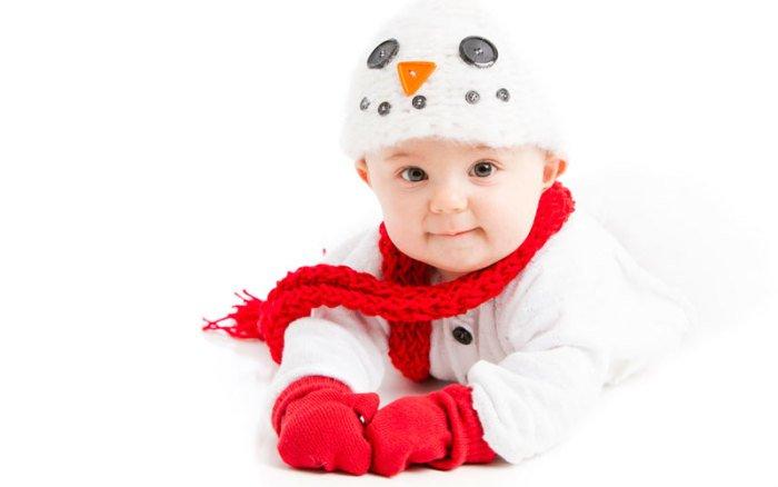 прогулки с младенцем зимой