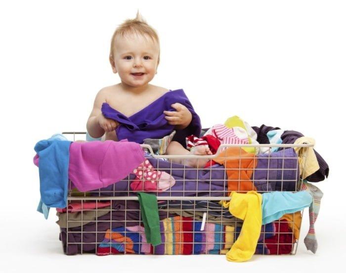 выбор одежды на прогулку с ребенком