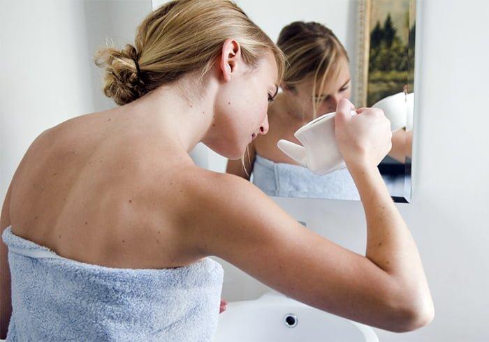 промывка носа при насморке