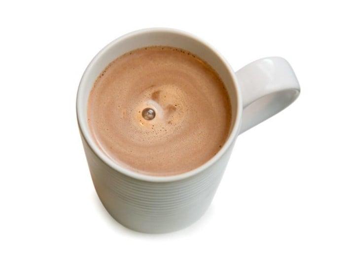 какао детям