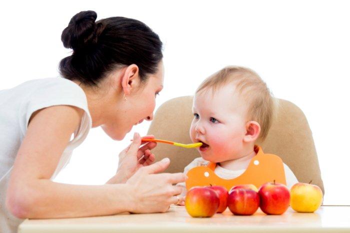 яблочный прикорм для грудничка