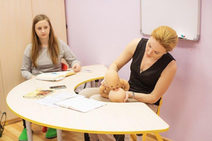 обучение грудному вскармливанию
