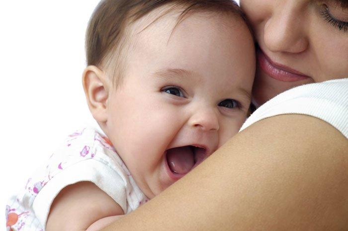 контакт малыша с мамой