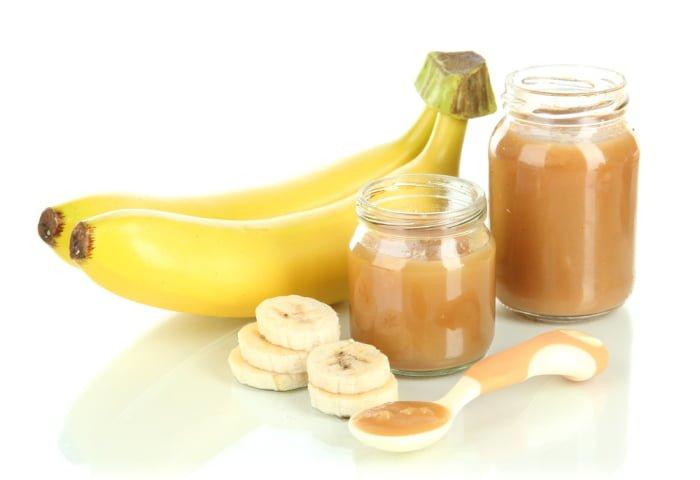 бананы и банановое пюре в рационе грудничка