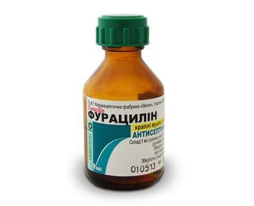 фурацилин при грудном вскармливании