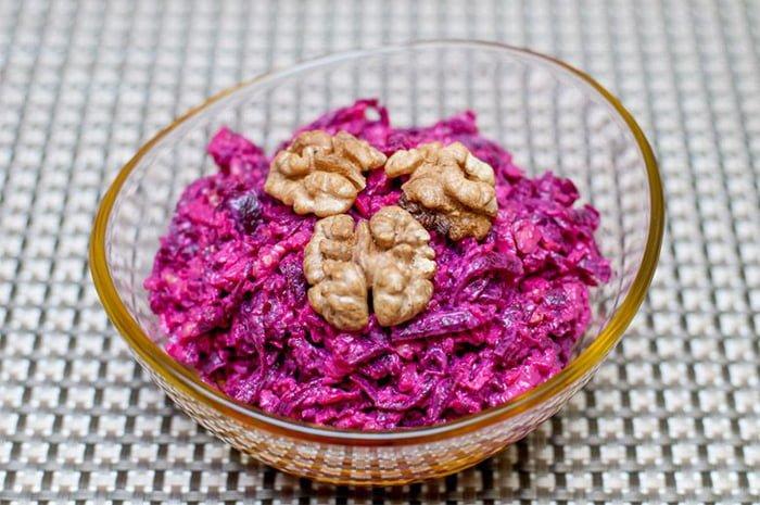 салат со свеклой при грудном вскармливании