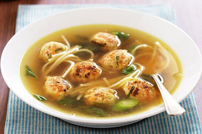 суп с фрикадельками и вермишелью для ребенка 1-2 года