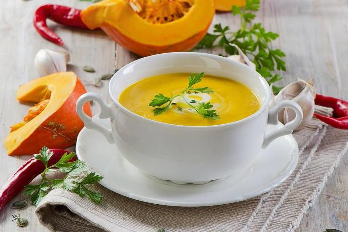 тыквенный суп-пюре для ребенка 1-2 года