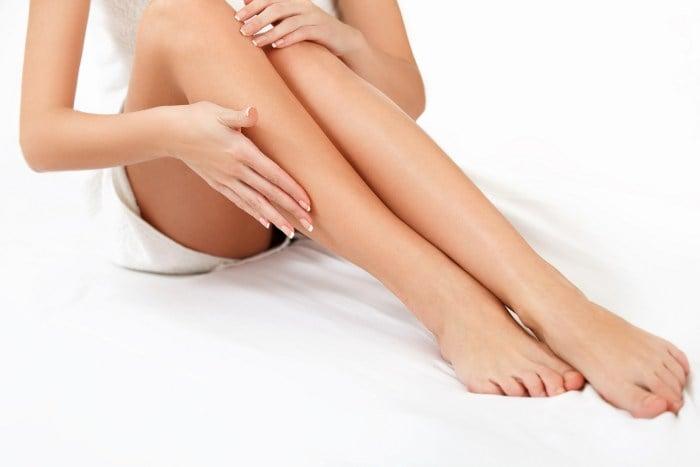 ноги после лазерной эпиляции