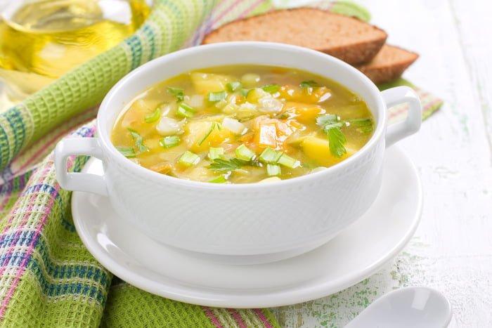 гороховый  суп для ребенка 1-2 года
