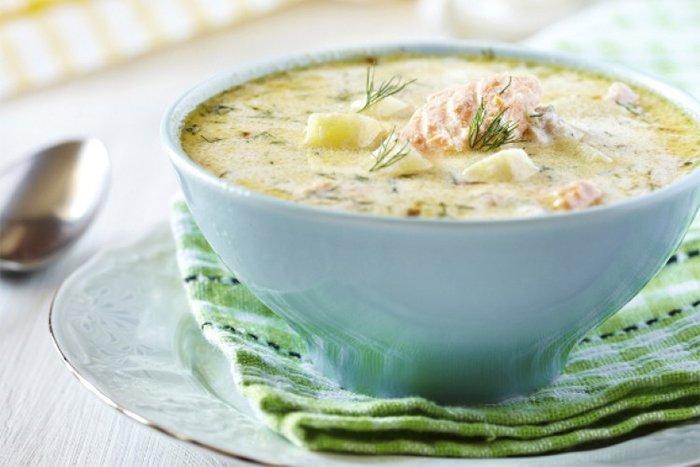 суп рыбный для ребенка 2 года
