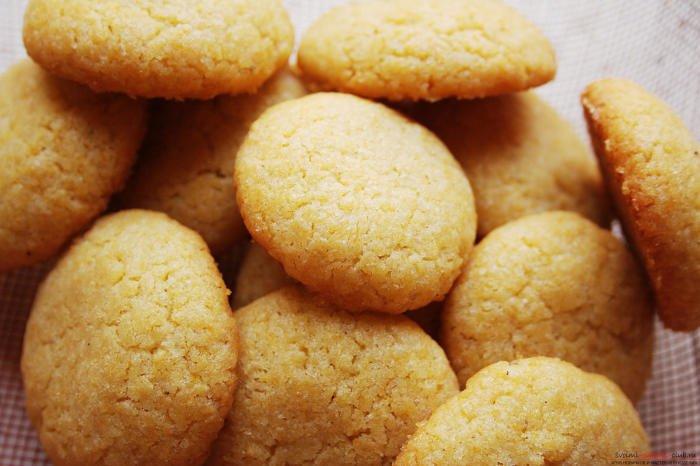 кукурузное печенье для аллергиков