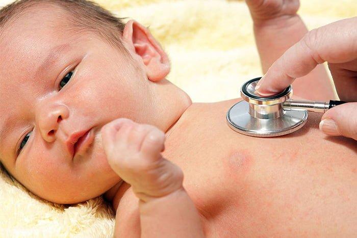 воспаление легких у грудничка