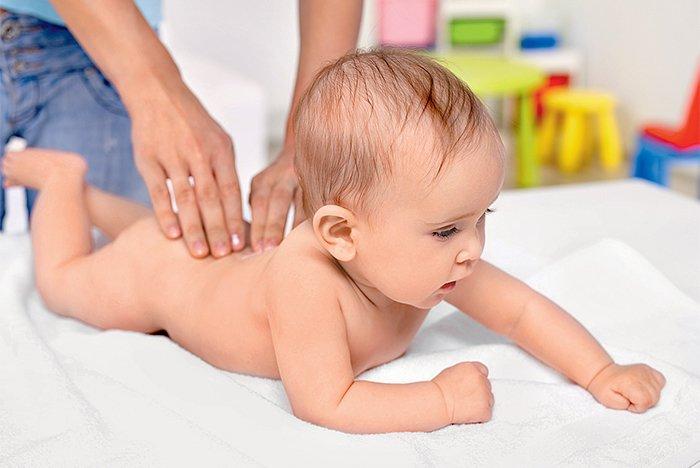 искривление позвоночника у малыша