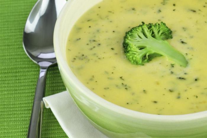 суп-пюре из брокколи ребенку