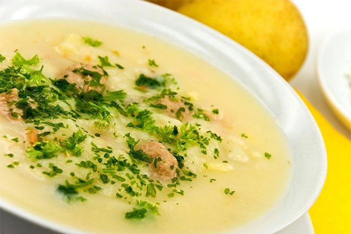 овощной суп-пюре для ребенка