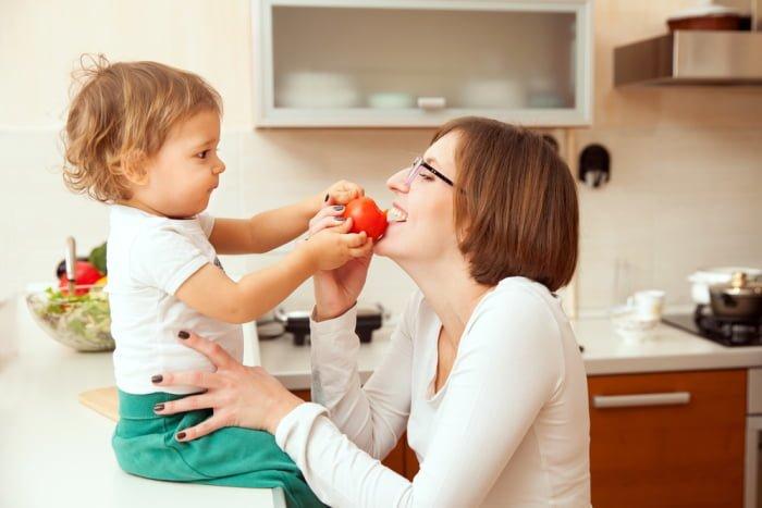 что должна есть кормящая мать