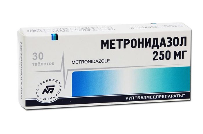 метронидазол при грудном вскармливании