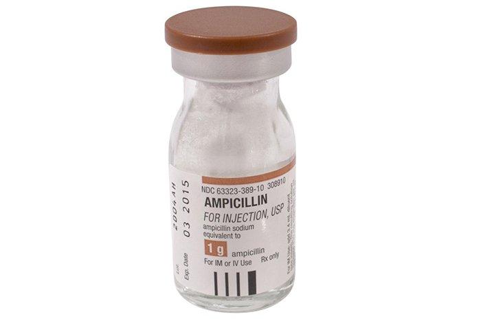 ампициллин суспензия