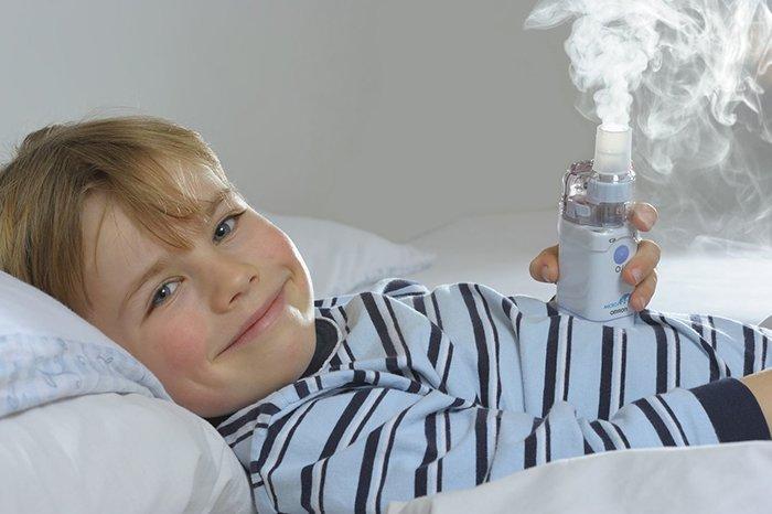 ингаляции для лечения горла у детей