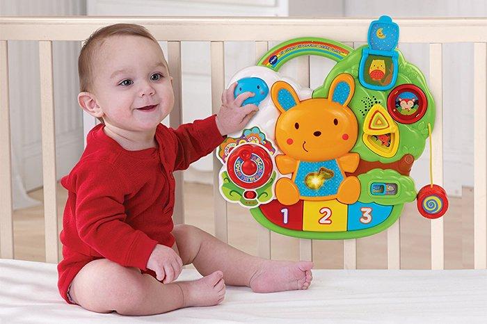 музыкальный мобиль для детской кроватки