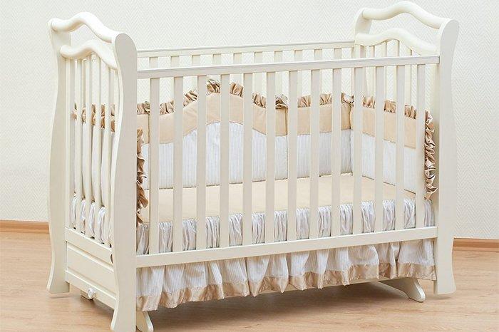 обивка детской кроватки