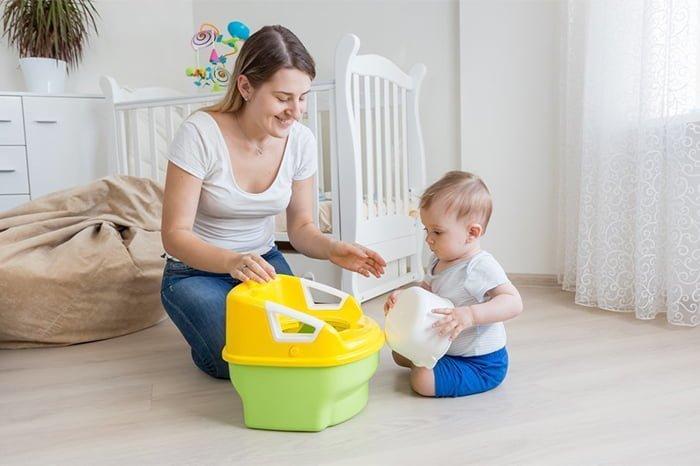 приучение малыша к горшку