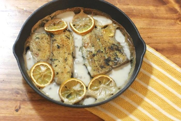 рыба со сметаной для грудничка