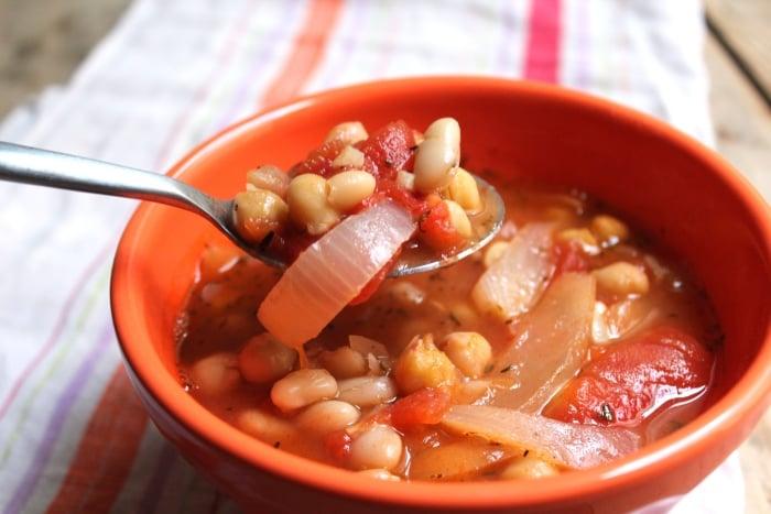 суп с фасолью для ребенка