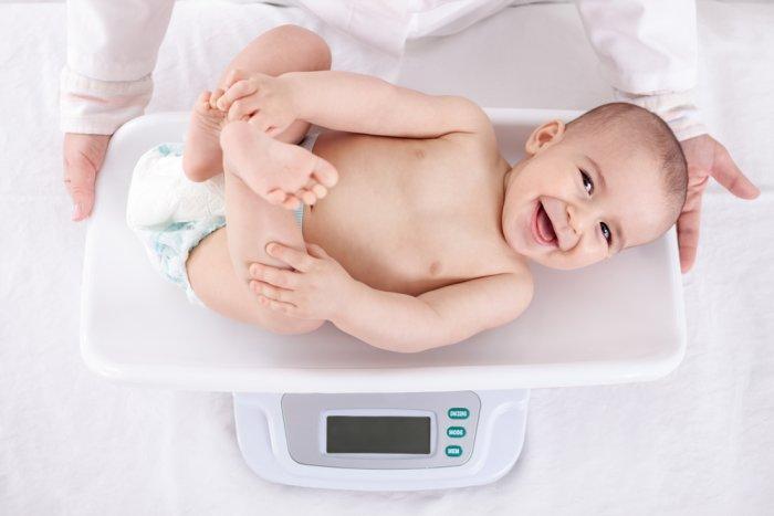 вес грудного ребенка