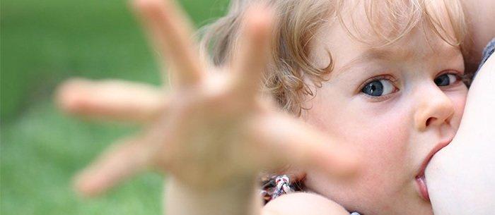 отлучение от груди ребенка
