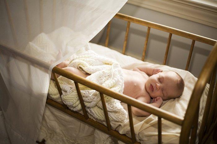 организация сна новорожденного