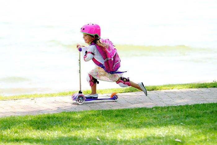 трехколесный самокат для ребенка