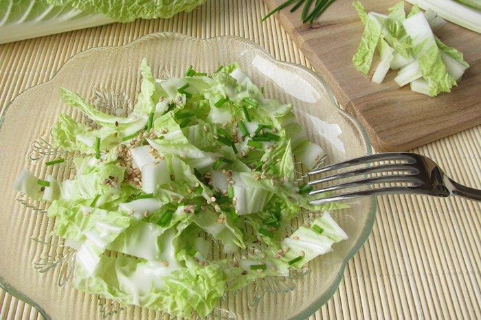 пекинская капуста в салате