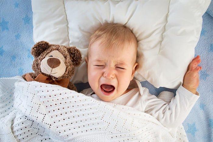 ребенок не спит ночью