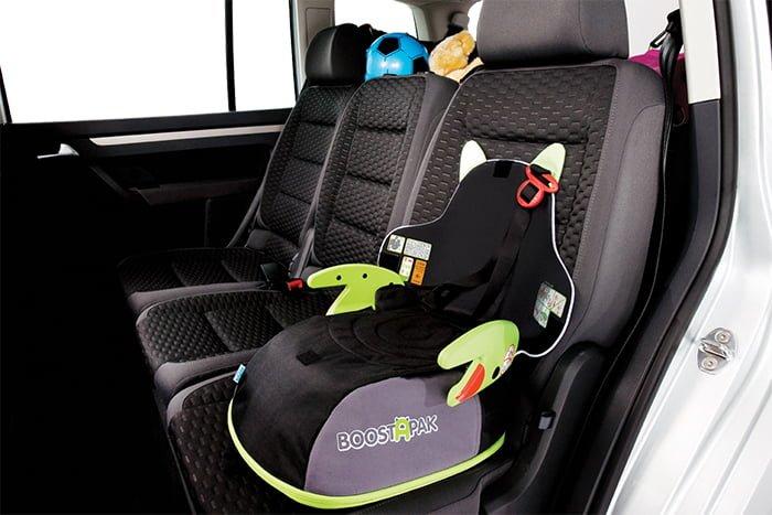 бустер для перевозки детей 7-12 лет в машине