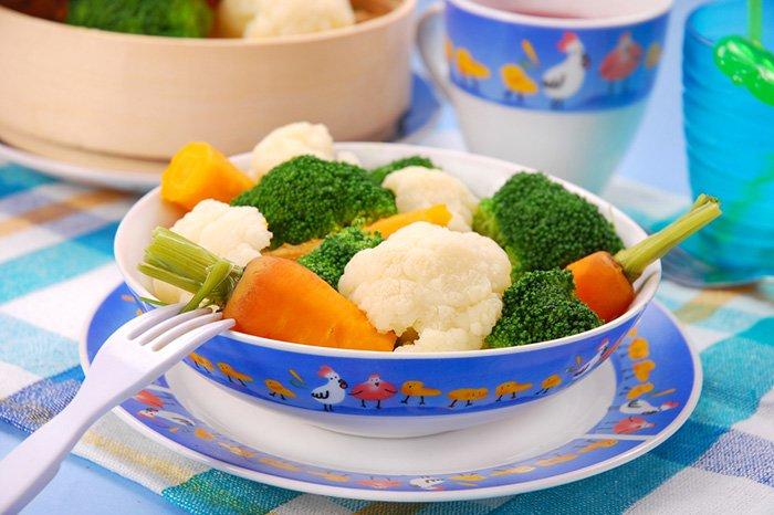 овощи в рационе ребенка