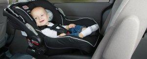 грудничок в машине