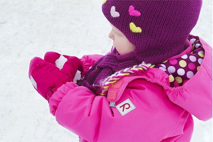 теплая детская одежда на зиму