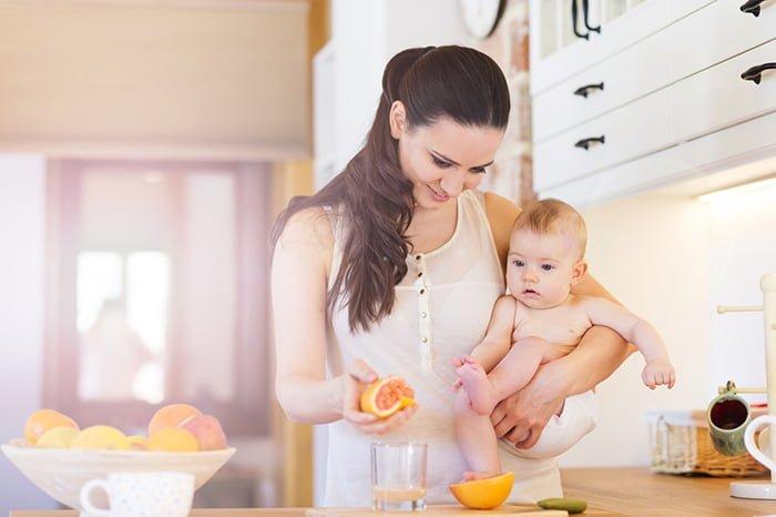 грейпфрут в рационе ребенка до года