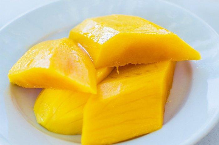 манго без кожуры