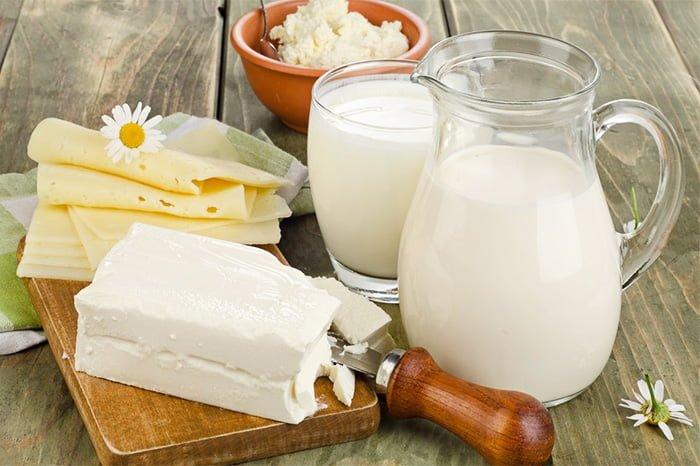 молочные продукты в меню ребенка