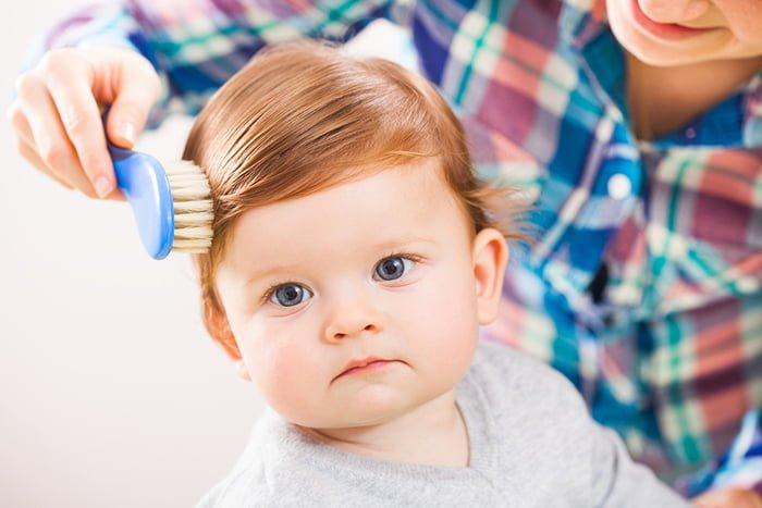 здоровые волосы у ребенка