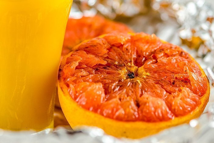 грейпфрут в духовке для ребенка