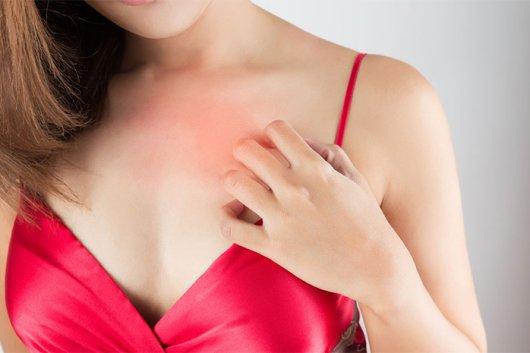 зуд при грудном вскармливании