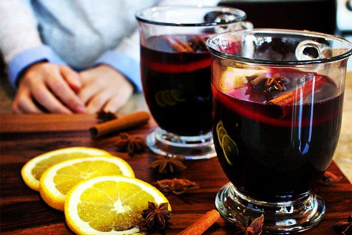 глинтвейн на вине
