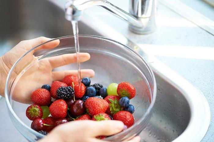 подготовка ягод к употреблению