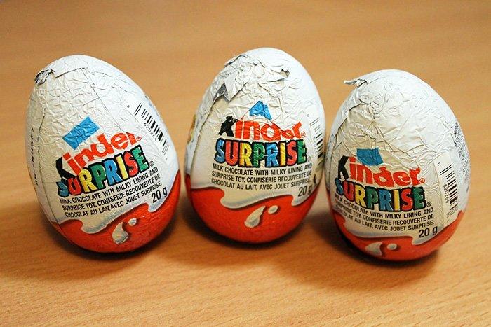 шоколадные яйца для детей
