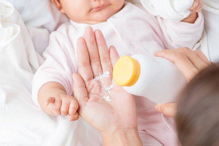 детская присыпка для новорожденных